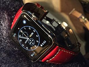 グットゥーゾに交換したApple Watch