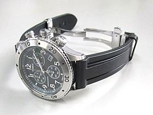 時計ベルトをモレラートのマリナーに交換したTimex T2M706