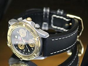 時計ベルトをディモデルのジャンボに交換したTAG HEUER CE1120