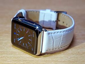 時計ベルトをモレラートのボーレに交換したApple Watch