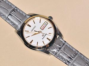 時計ベルトをモレラートのボーレに交換したSEIKO グランドセイコー SBGT038