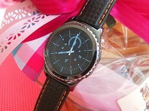 時計ベルトをモレラートのバイキングに交換したSAMSUNG Gear S2 classic
