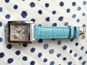 時計ベルトをBOLLE(ボーレ)に交換した SEIKO ルキア