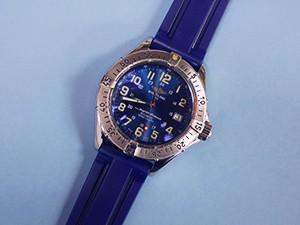 時計ベルトをMARINER に交換したライトリング コルト スーパーオーシャン <br>BREITLING COLT SUPEROCEAN