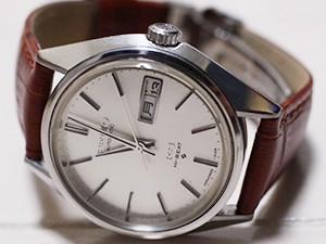 時計ベルトをBOLLE に交換したセイコー キングセイコー56 SEIKO KING SEIKO56