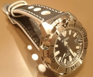 時計ベルトをBOWLINGに交換したセイコーモンスターSBDC025 SEIKO Monster SBDC025