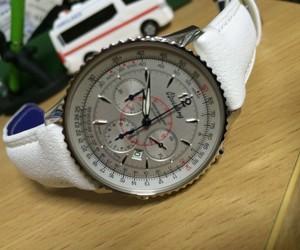 時計ベルトをSQUASHに交換したブライトリングモンブリラン38ジャパンエディション BREITLING MONTBRILLANT 38 JAPAN EDITION