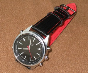 時計ベルトをBIKINGに交換したリコーエレメックスエーティーリマインダー660105−01 RICOH ELEMEX REMINDER 660105−01