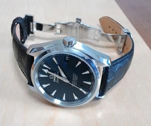 時計ベルトをBOLLEに交換したオメガシーマスター アクアテラ 38.5mm OMEGA SEAMASTER AQUA TERRA