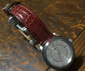 時計ベルトをLIVERPOOLに交換したオリスアーティックス GT デイト Oris Artix GT Date