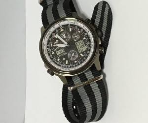 時計ベルトをTYPE NATOに交換したシチズンプロマスター PMV65-2272 CITIZEN PROMASTER PMV65-2272