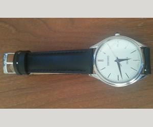 時計ベルトをGRAFICに交換したセイコードルチェ SEIKO DOLCE SACM171