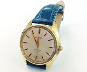 時計ベルトをSAMBAに交換したセイコー61スカイライナー 21石 SEIKO 61 SKYLINER