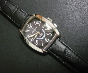 時計ベルトをBOLLEに交換したシチズンXC(クロスシー)電波時計 XCD38-8481 CITIZEN XC XCD38-8481