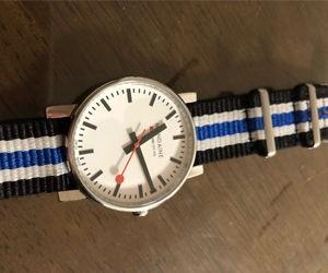 時計ベルトをTYPE NATO Sに交換したモンディーン Mondaine