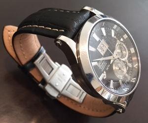 時計ベルトをPLUSに交換したセイコーキネティック プレミア SEIKO5 KINETIC PREMIER