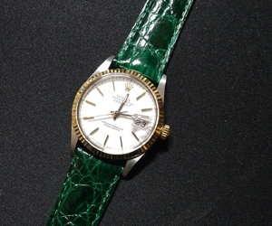 時計ベルトをTRACYに交換したロレックスデイトジャスト ROLEX DATEJUST