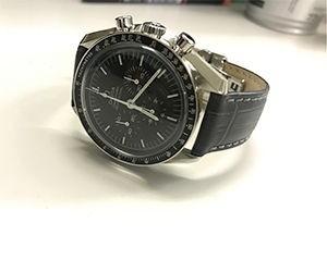 時計ベルトをBOLLEに交換したオメガスピードマスター ムーンウォッチ プロフェッショナル 42mm OMEGA SPEEDMASTER MOONWATCH PROFESSIONAL 42mm