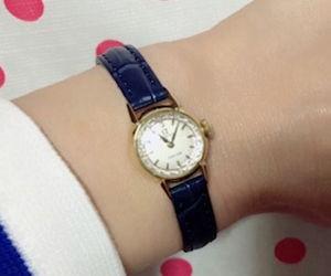 時計ベルトをDONNA CROCO(ドナ クロコ)に交換したオメガ1960年アンティーク Omega 1960 Antique