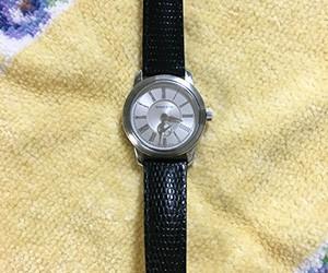 時計ベルトをDONNA CROCO(ドナ クロコ)に交換したティファニー マークラウンド スモールセコンド
