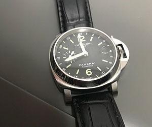 時計ベルトをBOLLEに交換したパネライルミノール