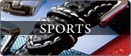 機能美溢れるスポーツ時計ベルト スポーツ