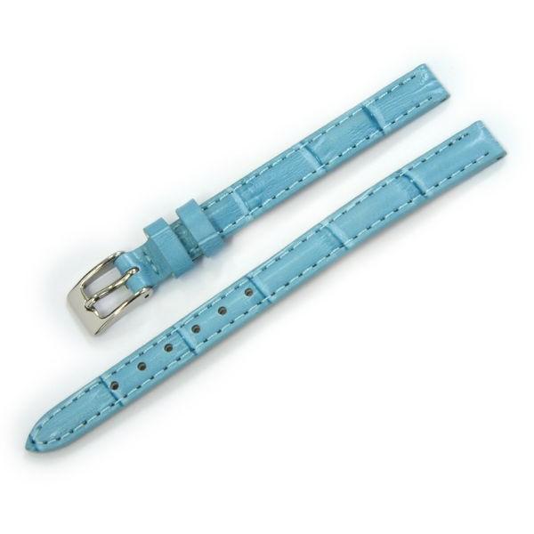 腕時計ベルト バンド レディース 交換 牛革 14mm 13mm CASSIS DONNA Croco Calf D0000312|mano-a-mano|24