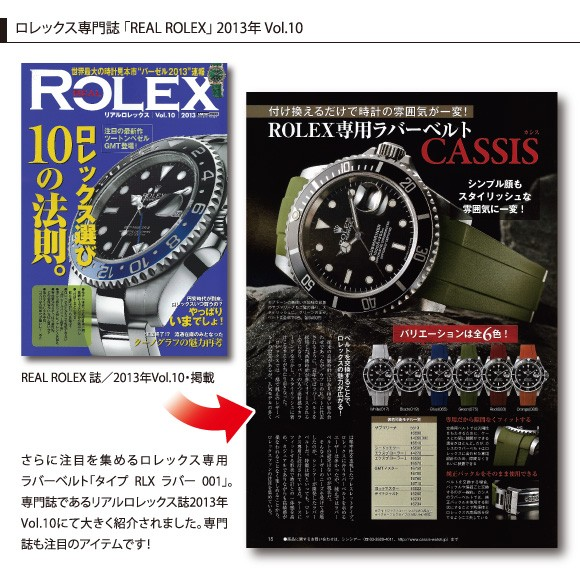 TYPE RLX RUBBER 001