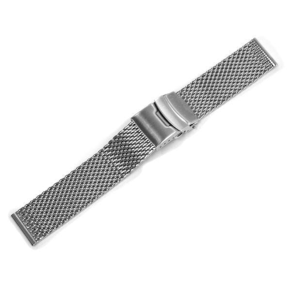 時計 ベルト 腕時計ベルト バンド  ステンレススチール CASSIS カシス MESH LOCK PB メッシュロックピービー u0025304 20mm 22mm 24mm|mano-a-mano|13