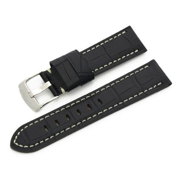 腕時計ベルト バンド 交換 牛革 パネライ用 24mm 22mm CASSIS TYPE PAN U1014008|mano-a-mano|18