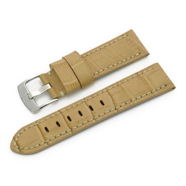 腕時計ベルト バンド 交換 牛革 パネライ用 24mm 22mm CASSIS TYPE PAN U1014008|mano-a-mano|19