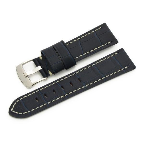腕時計ベルト バンド 交換 牛革 パネライ用 24mm 22mm CASSIS TYPE PAN U1014008|mano-a-mano|22