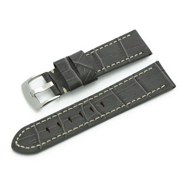 腕時計ベルト バンド 交換 牛革 パネライ用 24mm 22mm CASSIS TYPE PAN U1014008|mano-a-mano|24