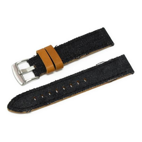 時計 ベルト 腕時計ベルト バンド  デニム CASSIS カシス NAPA ナパ  u1030600 20mm 22mm 24mm|mano-a-mano|13