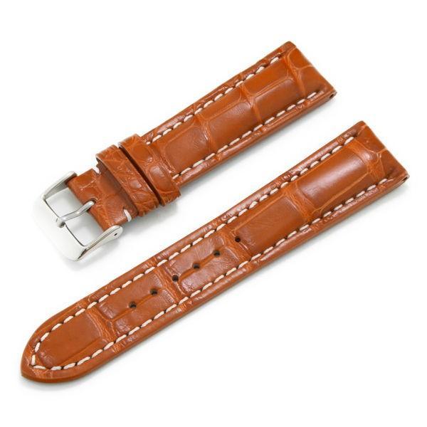 腕時計ベルト バンド 交換 ワニ革 24mm 22mm CASSIS TYPE BRE 2 ALLIGATOR U1111A70|mano-a-mano|12