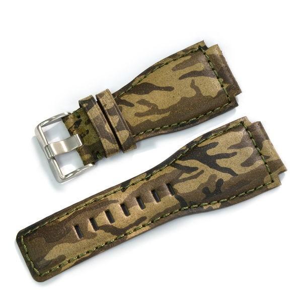 腕時計ベルト バンド 交換 牛革 ベル&ロス用 24mm CASSIS TYPE BAR001 UBBAR001|mano-a-mano|08