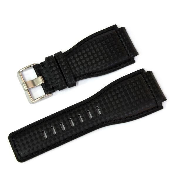 腕時計ベルト バンド 交換 牛革 ベル&ロス用 24mm CASSIS TYPE BAR001 UBBAR001|mano-a-mano|09