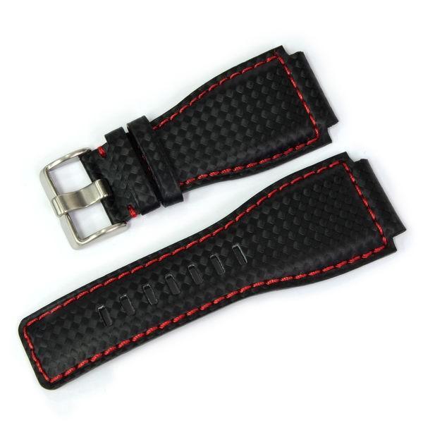 腕時計ベルト バンド 交換 牛革 ベル&ロス用 24mm CASSIS TYPE BAR001 UBBAR001|mano-a-mano|11