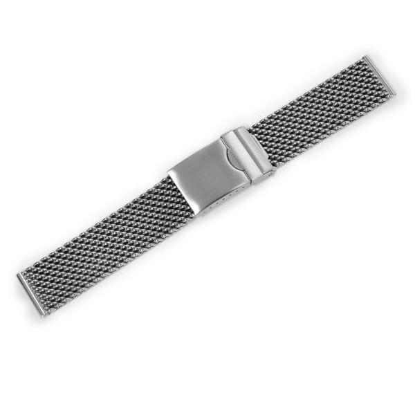 時計 ベルト 腕時計ベルト バンド  ステンレススチール CASSIS カシス Mesh Mirror Thick メッシュミラーシック v04070h4 20mm mano-a-mano 06