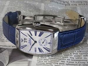 時計ベルトをモレラートのボーレに交換したダービー&シャルデンブラン/アエロディーン・デイト