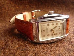 時計ベルトをモレラートのボルテラに交換したSEIKO(CHRONOMETER)新10A型