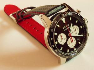時計ベルトをモレラートのバイキングに交換したSEIKOブライツフェニックスSAGK003