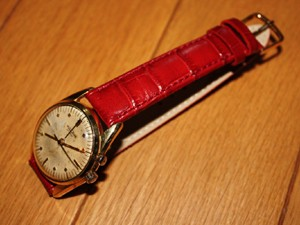 時計ベルトをモレラートのボーレに交換したヴァルカンクリケット