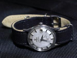 時計ベルトをモレラートのジャンプに交換したオメガコンステレーション