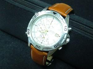 時計ベルトをモレラートのエリートに交換したセイコープロスペックスピードマスター
