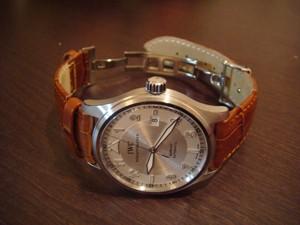 時計ベルトをモレラートのボーレに交換したIWC SPITFIRE MARKXVI