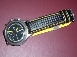 時計ベルトをモレラートのバイキングに交換したSinn 356 Euroflieger Ⅱ