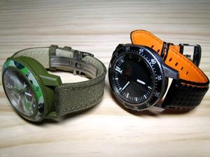 時計ベルトをモレラートのバイキングに交換したSinn 503 EZM-1
