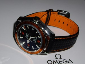 時計ベルトをモレラートのバイキングに交換したオメガ・プラネットオーシャン2209.50