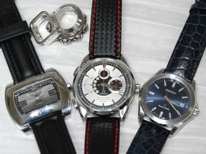 時計ベルトをモレラートのリバプールに交換したボームメルシェハンプトンシティ